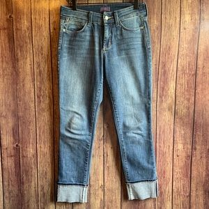 NYDJ Ankle Cuffed Lift & Tuck Technology Jeans